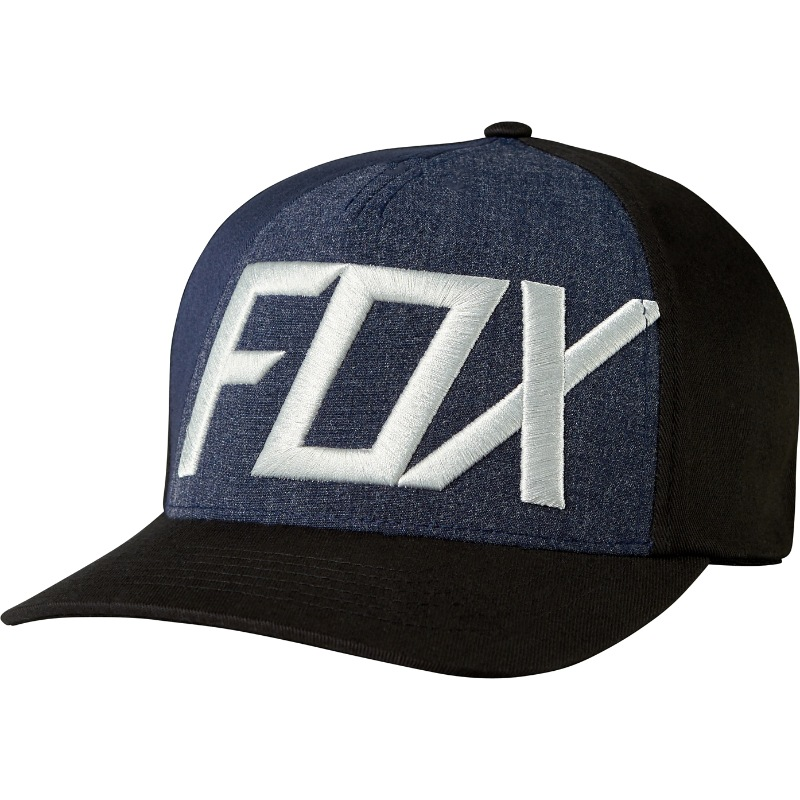 Fox Blocked Out Flexfit Hat (black)
