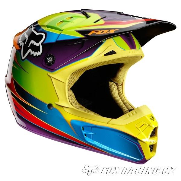 7f542e9f52cf8 Fox V2 Race 12 Helmet