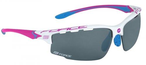 8831da8cc Dámske slnečné okuliare vhodné na cyklistiku a ďalšie športové aktivity.  white/pink
