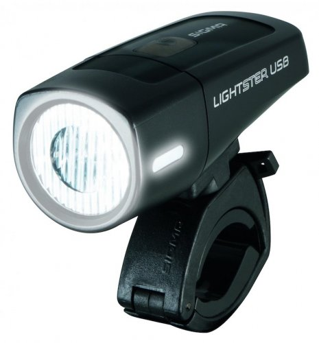 706ec3a0d Sigma Lightster USB. Predné svietidlo na bicykel s ...